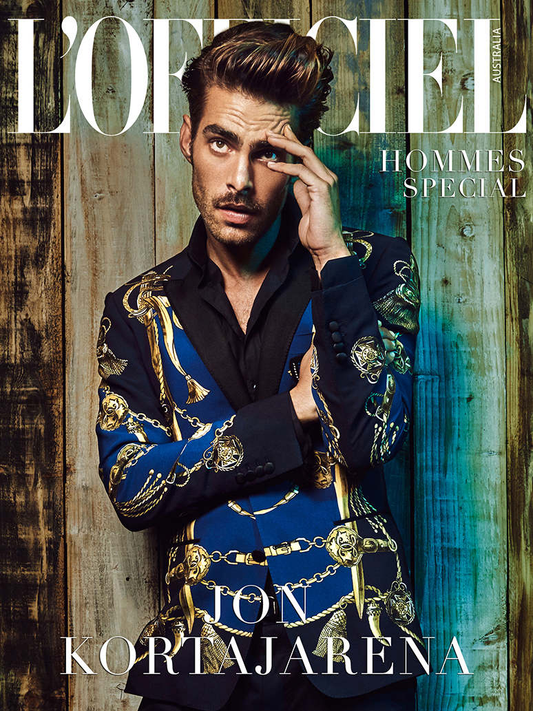 Jon Kortajarena for Vogue Italy