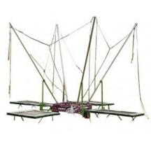 Bungee Trampoline op aanhanger