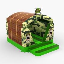 Springkussen Mini Bootcamp met dak