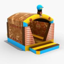 Springkussen Standaard Techniek met dak