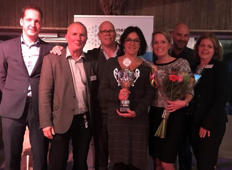 """Featured image of VIRO vestiging Echt, na winst vorig jaar, nu mooie tweede plaats in de strijd om """"Aantrekkelijkste werkgever van Limburg"""" - Aantrekkelijkste werkgever2018 2 - VIRO NL"""