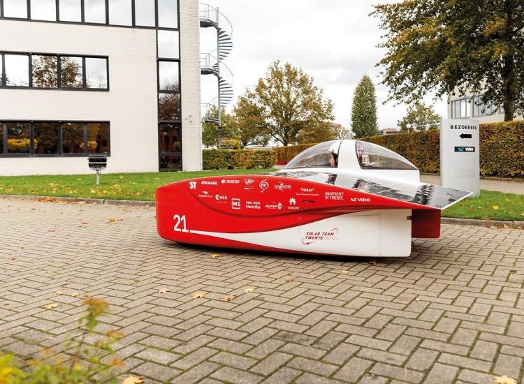 Featured image of VIRO in kick-off video Solar Team Twente - 022 L9892 - VIRO NL