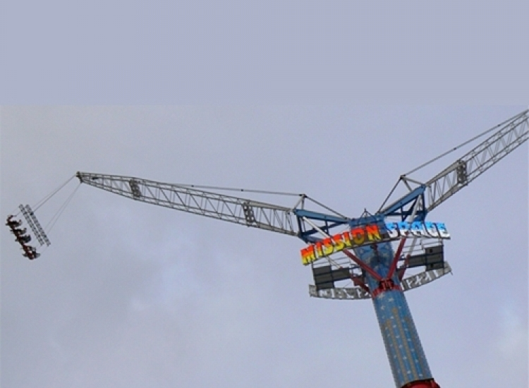 First image of project: Attractiebouw mission space - VIRO NL