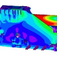 Thumbnail of project: Industriele en utiliteitsbouw machinebouw FEM analyse Offshore pijpenbuiger 01 - VIRO EN