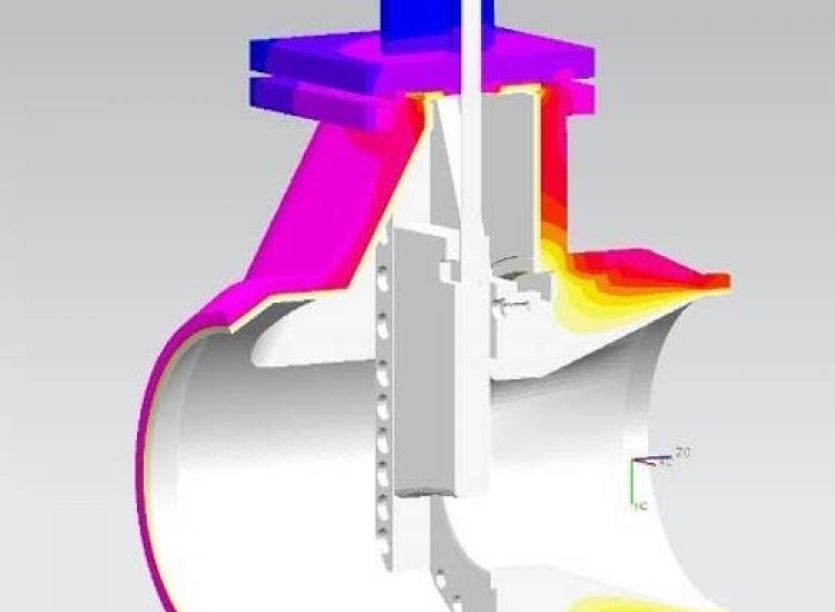 First image of project: Energie FEM berekeningen Valve 1 - VIRO NL