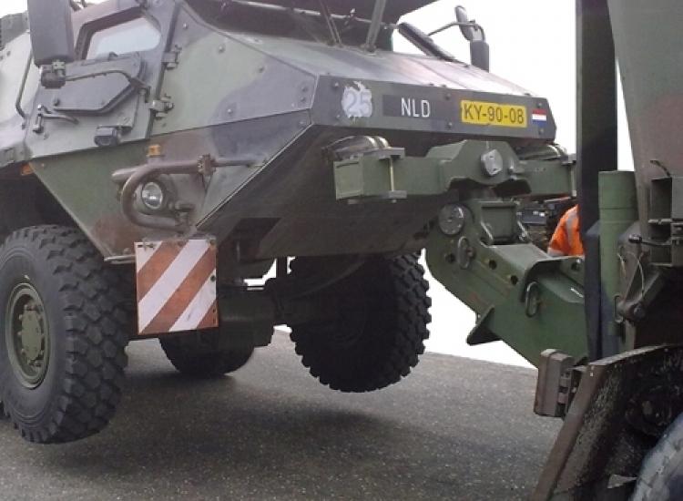 First image of project: Defensie hefarmen militaire voertuigen - VIRO EN