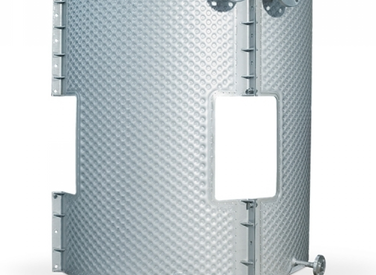 Kühlplatten für Milchtank - VIRO DE