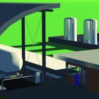 Thumbnail of project: Industiele en Utiliteitsbouwa Procesindustrie Nieuwbouw tankenpark Trespa - VIRO EN