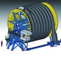 Thumbnail of project: Maritiem machinebouw ontwerp hosereel - VIRO EN