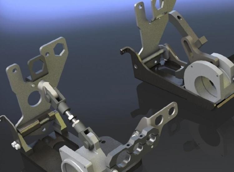 First image of project: Industriele en utiliteitsbouw machinebouw optimalisatie compressor steun 1 - VIRO NL
