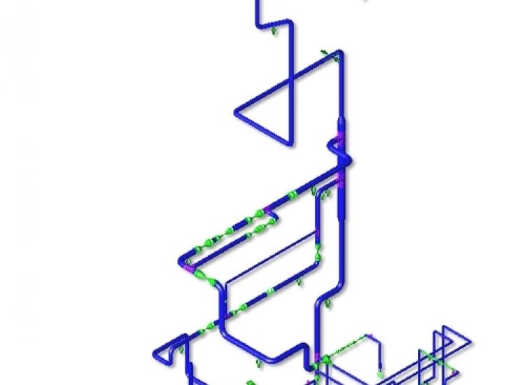 First image of project: Engergie pipe stress berekeningen - VIRO EN