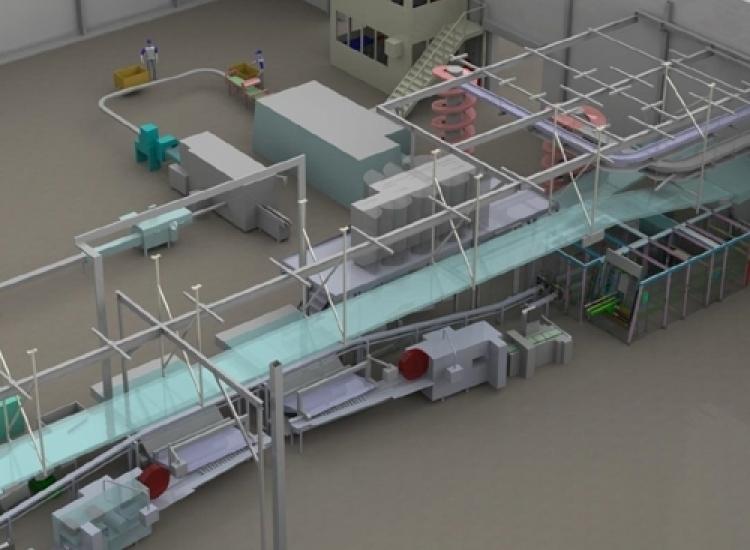 First image of project: Food machinebouw productielijnen bolletje 1 - VIRO NL