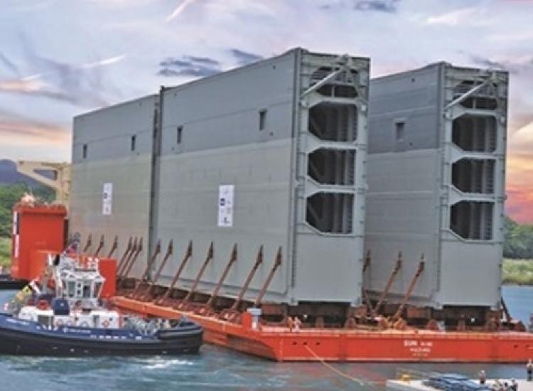 First image of project: Industriele en utiliteitsbouw maritiem sluisdeuren panamakanaal 01 - VIRO DE