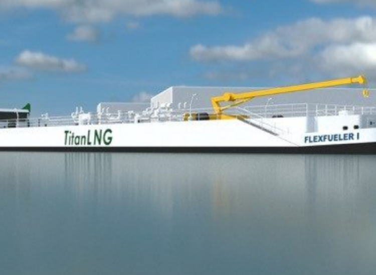First image of project: 180409 Titan LNG - VIRO NL