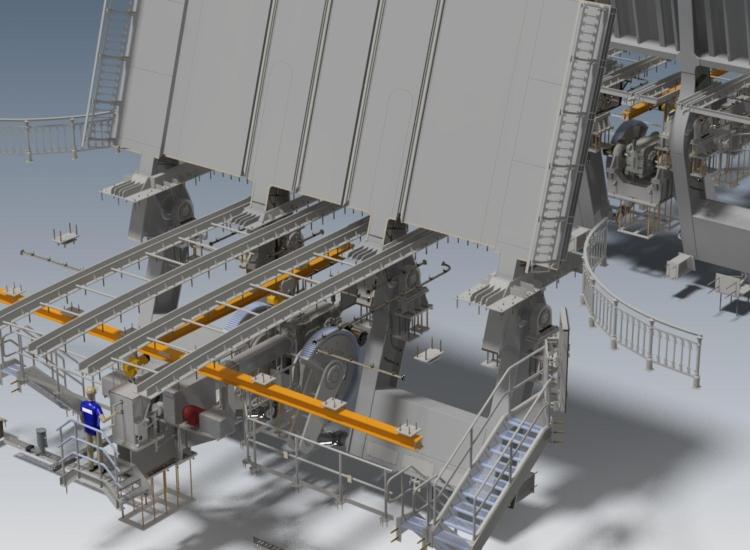 First image of project: Bullebakbrug mechanisch website - VIRO NL