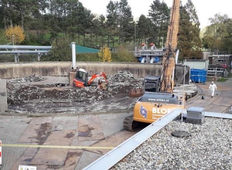 Metamorphosis for the waste water treatment plant - VIRO EN