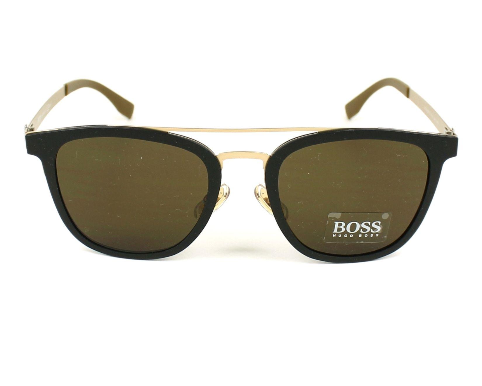 Boss Herren Sonnenbrille » BOSS 0838/S«, schwarz, 72Y/EC - schwarz/braun