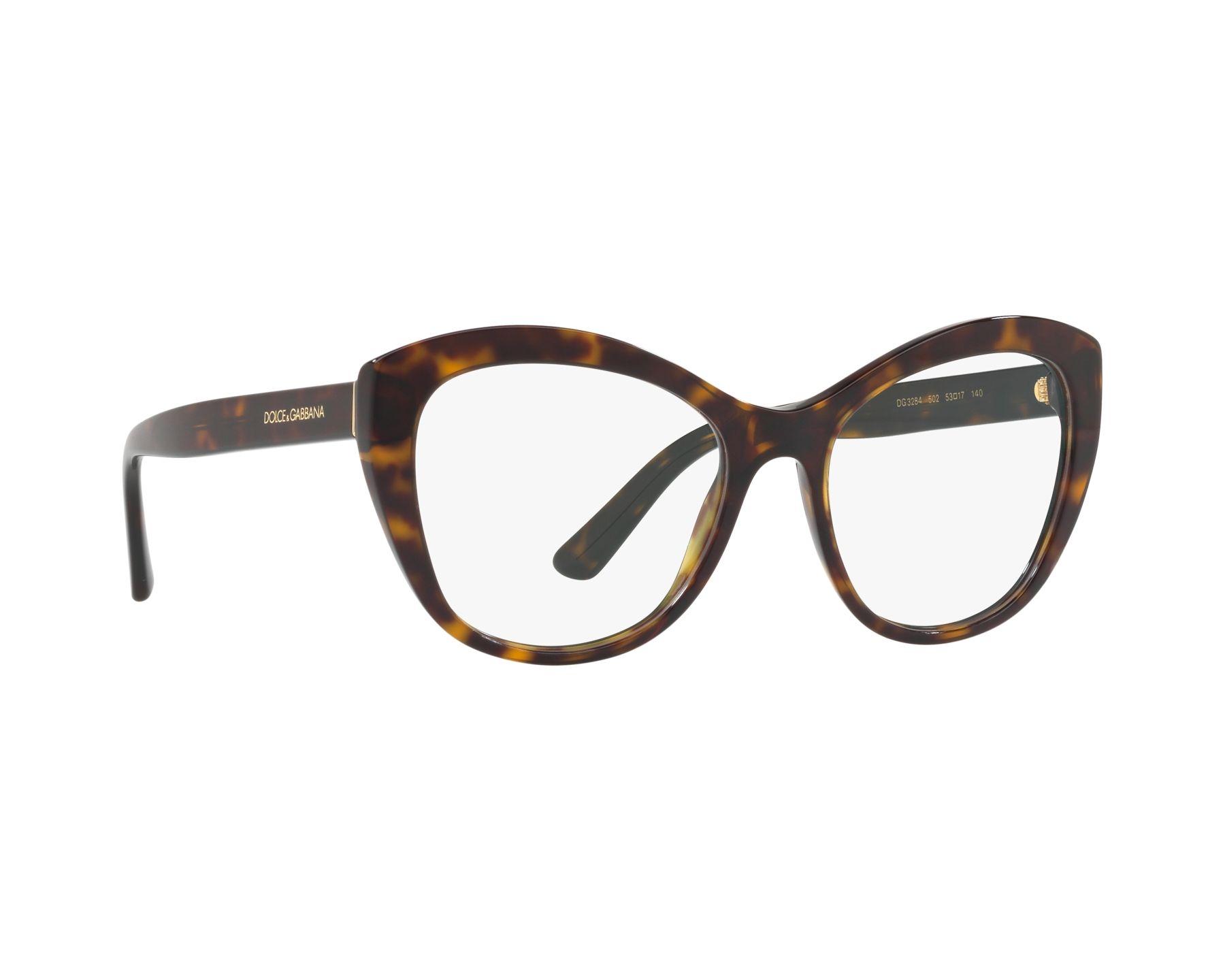 DOLCE & GABBANA Dolce & Gabbana Damen Brille » DG3284«, braun, 502 - braun