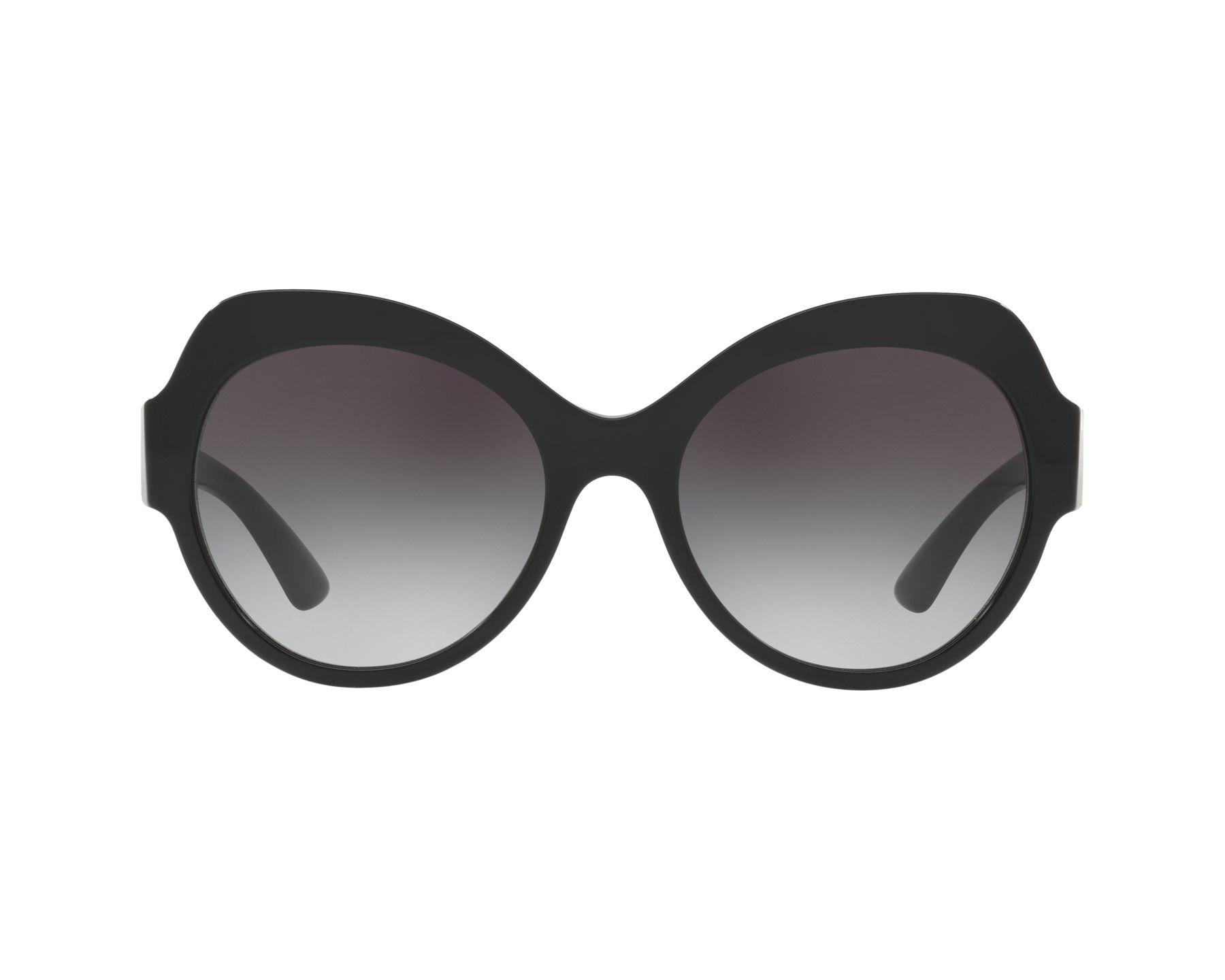 DOLCE & GABBANA Dolce & Gabbana Damen Sonnenbrille » DG4320«, schwarz, 501/8G - schwarz/grau