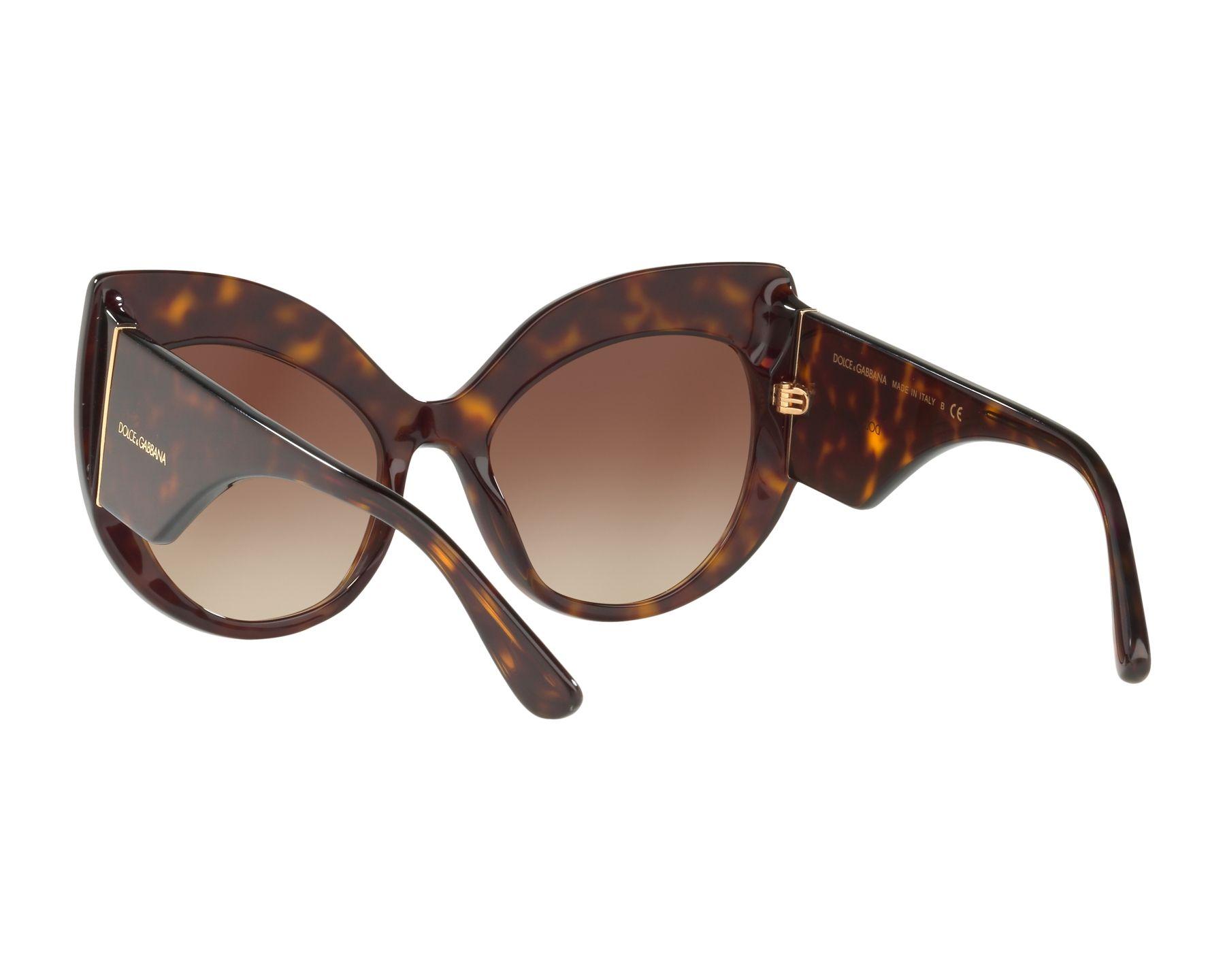 DOLCE & GABBANA Dolce & Gabbana Damen Sonnenbrille » DG4321«, braun, 502/13 - braun/braun
