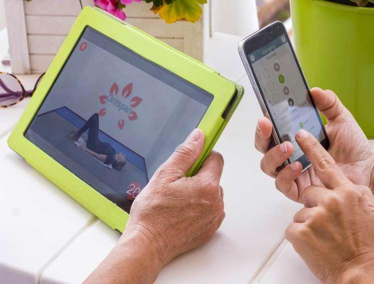 Fitavie op tablet en smphone