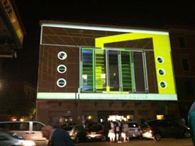 Pixel Bitch Live Mapping at LPM 2015, Rome