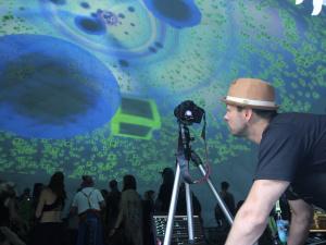 VJ Parallx - Motion Notion 2016 - Nest Dome