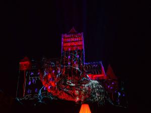 Vloop halloween at Bran Castle 30k lumens 4096 x 2160 ... 30k Halloween lumens 4k Bran