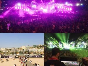 Holi festival of colours - Beirut 2015