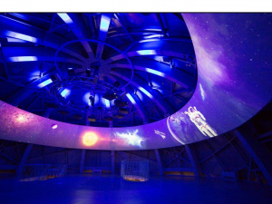 Discover the power  of light. Innovative display, Atomium. Brussels. Belgium  2015