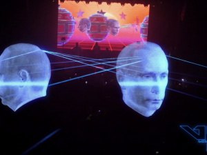 Rave Festival. Visualization and production by VJ LABEL