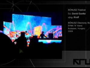David Guetta / BÓNUSZ Festival 2008