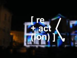 Caldas Da Rainha, Portugal. re+act(ion) av festival.