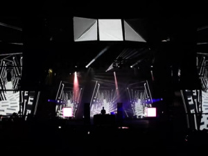 3D Mapping at Audioriver Festival 2017 - Electronic Beats Stage