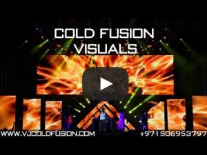 VJ Cold Fusion showreel 2013 - international VJ & Visual Demo