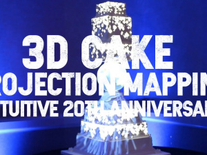 3D Cake Projection Mapping