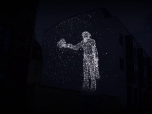 3D Projection H. C. Andersen Christmas Market - Odense *ANIMATION*
