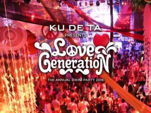 KU DE TA Bikini Party 2016 : Love Generation
