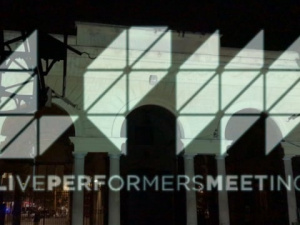 LivePerformersMeeting - Projection Mapping