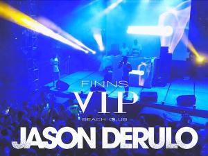 Jason Derulo live at Finns VIP Beach Club