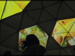Dome videomapping test