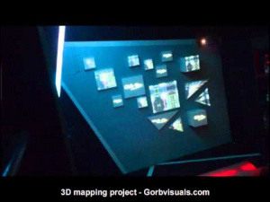 3D mapping project - Gorbvisuals.com