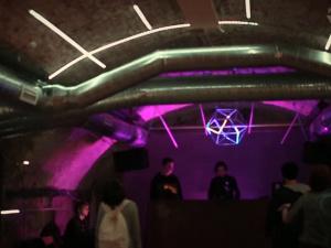 Membrana - Immersive LED Light Installation by VJ Reign