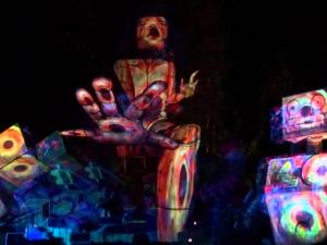 Masterdamus Visual live act @ DOOF Festival 2016