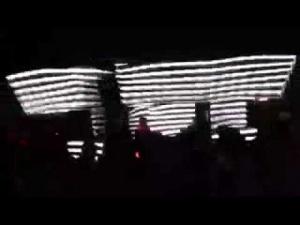 Cabina de led mapping 3d @zebra club