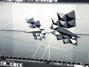 Personal Project -  3D projection mapping on paper sculpture