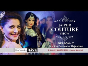 #Jaipur #COUTURE #Show 2020 - SEASON - 7, 3rd March #Fashion Festival of Rajasthan