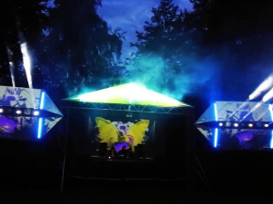 Pelėda Camp 2017 ( Lithuania ) - Main stage \ two nights