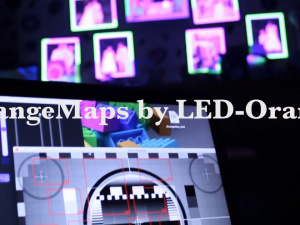 orangeMaps Video Projection Mapping Software Demo
