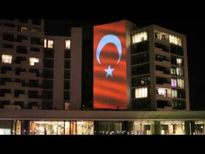 The Grand Tarabya 23 Nisan Video Mapping // Project İstanbul